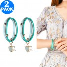2 X Mosquito-Repellent Bracelets Light Blue