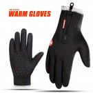 Unisex Touch Screen Thermal Windproof Gloves Thicken Style 5