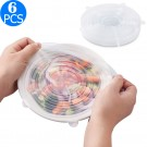 6-Pack Silicone Stretch Lids
