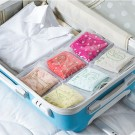2 X Travel Underpants Storage Bags