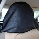 Post Workout Towel Car Seat Cover Black