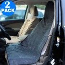 2 Pack Post Workout Towel Car Seat Covers Black