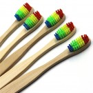 5 Pack Organic Eco-Friendly Bamboo Toothbrushes