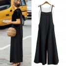 Women's Wide Leg Jumpsuit Black