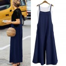 Women's Wide Leg Jumpsuit Navy