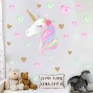 Unicorn Wall Sticker Style 1