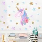 Unicorn Wall Sticker Style 2