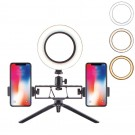 Adjustable Brightness LED Ring Light with Stand