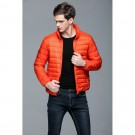 Mens Stand-up Collar Jacket K-6006 Orange