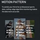C6T Smart Watch Sports Bracelet Body Temperature Heart Rate Blood Oxygen Blood Pressure Monitor Purple