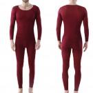 Men Winter Ultra Thin Thermal Underwear Set