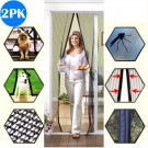 2PK Magnetic Anti-mosquito Door Curtains