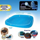Breathable Honeycomb Design Orthopedic Gel Memory Foam Seat Cushion for Sciatica Back and Tailbone Pain