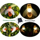 Waterproof 20LED Cute Honeybee Solar Lights