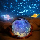 Christmas Romantic Universe Night Light Projection Lamp Style 1