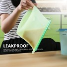 4 Pack 1000ML Silicone Food Storage Bags
