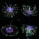 120 Bright Remote Control Explosion Star LED Fireworks Light Multicolor