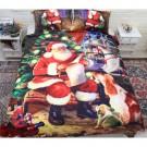 3PCS Christmas Comfort Bedding Sets Santa