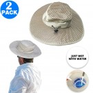 2 X Unisex Outdoor UV Protection Cooling Hats