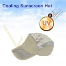 Unisex Outdoor UV Protection Cooling Cap