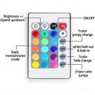 1M/2M/3M/4M/5M Remote Control Stickable RGB LED Strips Lights
