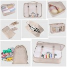 8PCS Travel Luggage Packing Cubes Organizers Set Green