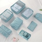 8PCS Travel Luggage Packing Cubes Organizers Set Navy