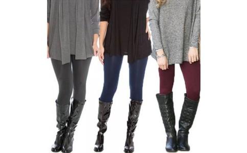 Winter Fleece Lined Leggings