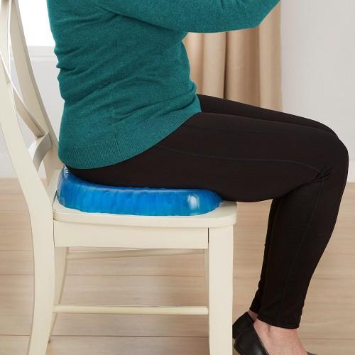 Breathable Honeycomb Design Orthopedic Gel Memory Foam Seat Cushion