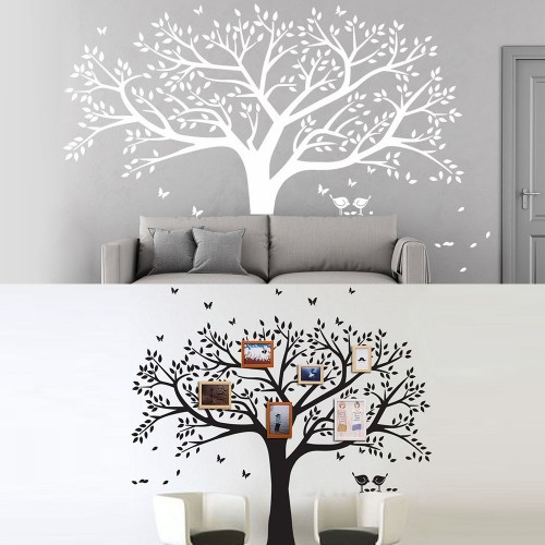 Oversized Frame Tree Decal