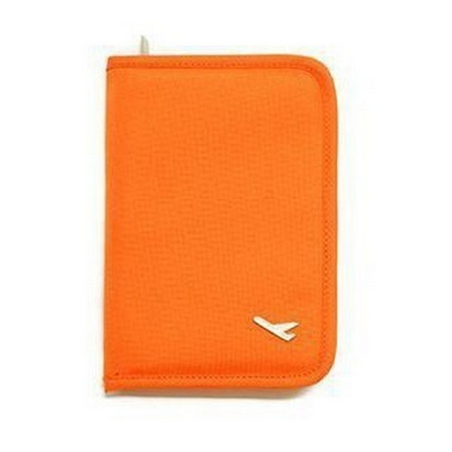 Travel Document Organiser Orange