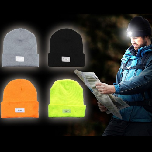 LED Knit Beanies