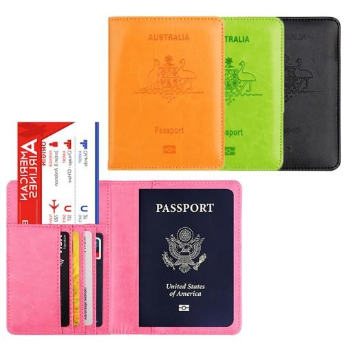 RFID Blocking Travel Passport Holder