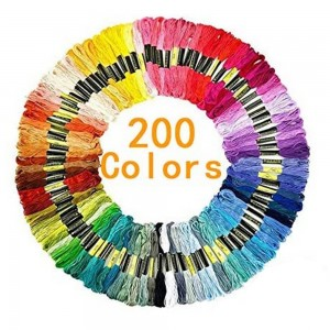 Embroidery Floss 200 Skeins Colored String