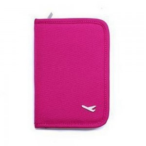 Travel Document Organiser Rose Red