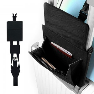 Travel Luggage Strap with Pouch