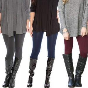 Winter Fleece Lined Leggings