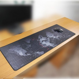 400*900*2mm Large World Map Mouse Mat Pad