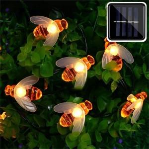 Waterproof 50LED Cute Honeybee Solar Lights