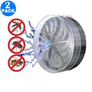 2 Pack 2 in 1 Solar Powered UV Lamp