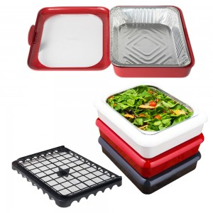 2 in 1 Foil Pan Casserole Carrier