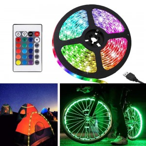 1M/2M/3M/4M/5M Remote Control Stickable RGB LED Strips Lights