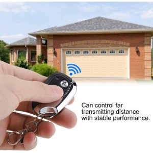 433MHz Four Button Garage Door Remote Control Transmitter