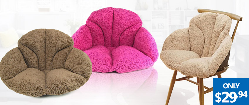 Fleece Comfort Support Cushions