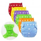 One Set of  Kids and Baby 7pcs Baby Diapers and 12pcs Inserts