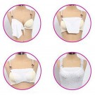 3PCS Lace Trim Clip on Cleavage Cover Inserts Sets