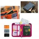 Travel Document Organiser Orange