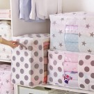 4X Bedding Blanket Storage Bags-Two Stars and Two Dots