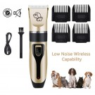USB Cordless Electric Dog Hair Clipper Set