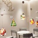 Bell Fairy Lights 3D Window Hanging Lamp Decorative LED Lights